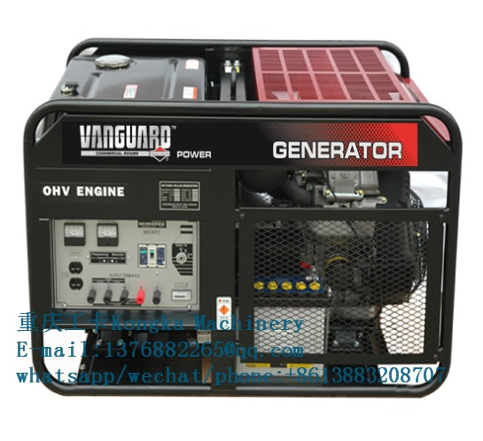 rated power 8kw 10kva gasoline power generator equipment
