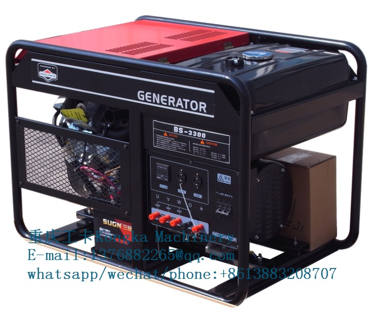 12KW 15KVA gasoline generator by Briggs Stratton engine