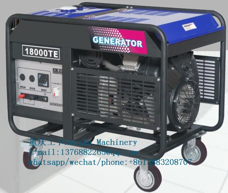 230/400V 15kw 18kva standby petrol engine generator for school